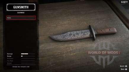 Метательные ножи в RDR 2