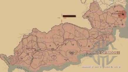 Карта в RDR 2