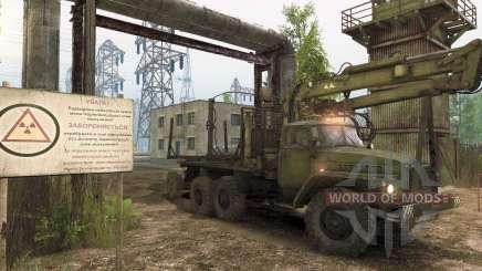 Spintires: миссии про Чернобыль и воровство леса