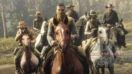 Многопользовательские режимы в Red Dead Online