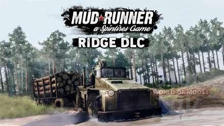 MudRunner вышло бесплатное дополнение The Ridge