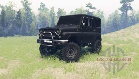 УАЗ 315195 Хантер для Spin Tires