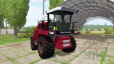 Палессе FS80 для Farming Simulator 2017