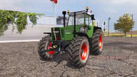 Fendt Favorit 615 LSA Turbomatic v2.0 для Farming Simulator 2013