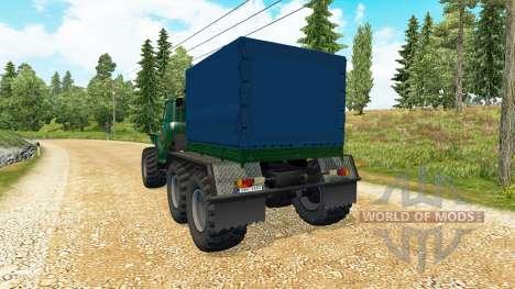 Урал 43202 v3.4 для Euro Truck Simulator 2