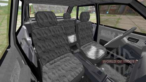 ВАЗ 2109 Спутник для Farming Simulator 2017