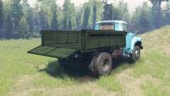 Окрас Зелёный кузов для ЗиЛ 130