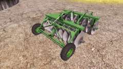 Disc harrow v2.0 для Farming Simulator 2013