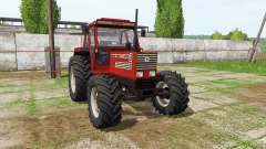Fiatagri 140-90 Turbo DT v1.1 для Farming Simulator 2017