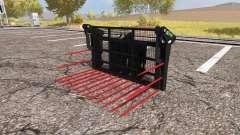 Albutt buck rake для Farming Simulator 2013