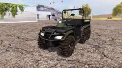 Polaris Sportsman Big Boss 6x6 v1.1 для Farming Simulator 2013