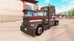 Скин Z1 на тягач Peterbilt 389 для American Truck Simulator