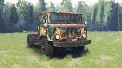 Окрас Летний камуфляж для ГАЗ 66