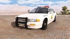 Gavril Grand Marshall utah highway patrol для BeamNG Drive