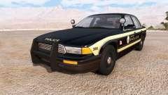 Gavril Grand Marshall jenisen police v2.0 для BeamNG Drive