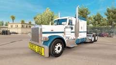 Скин Uncle D Logistics на тягач Peterbilt 389