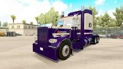Скин Purple Run на тягач Peterbilt 389