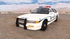 Gavril Grand Marshall wayland police v2.0 для BeamNG Drive