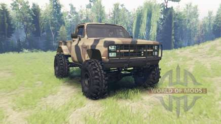 Chevrolet K5 Blazer M1008 для Spin Tires