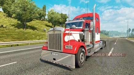 Kenworth W900 v1.2 для Euro Truck Simulator 2