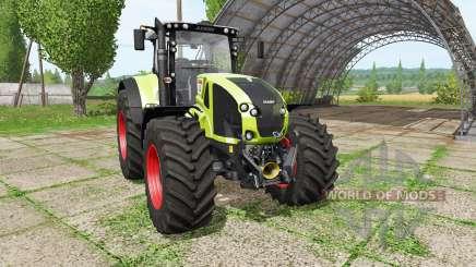 CLAAS Axion 930 v1.1 для Farming Simulator 2017