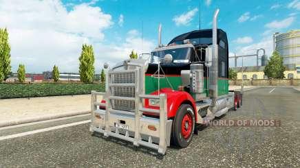 Kenworth W900 v1.3 для Euro Truck Simulator 2