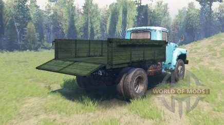 Окрас Зелёный кузов для ЗиЛ 130 для Spin Tires