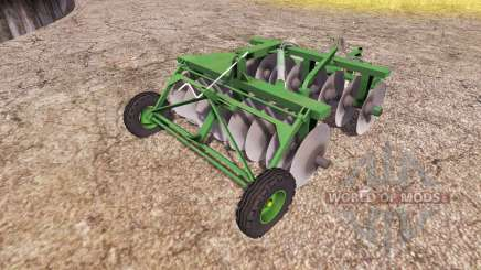 Disc harrow v2.0 для Farming Simulator 2013