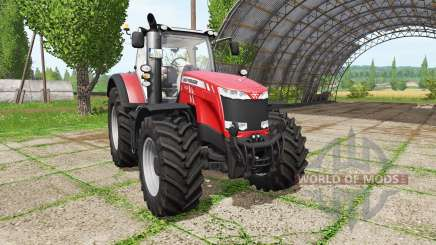 Massey Ferguson 8730 v3.5 для Farming Simulator 2017