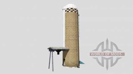 Towers silage для Farming Simulator 2015
