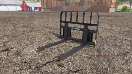 Whites pallet fork для Farming Simulator 2015