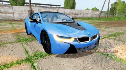 BMW i8 (I12) v1.5 для Farming Simulator 2017