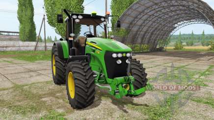John Deere 7730 v1.2 для Farming Simulator 2017