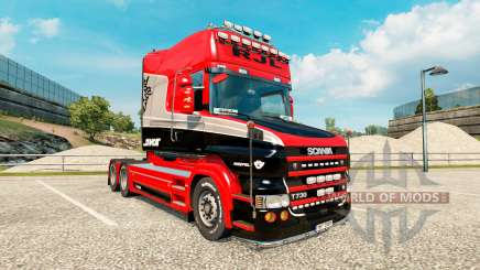Скин Stiholt на тягач Scania T-series для Euro Truck Simulator 2