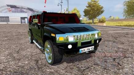 Hummer H2 v1.2 для Farming Simulator 2013