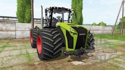 CLAAS Xerion 4500 v1.0.5 для Farming Simulator 2017