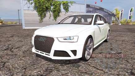 Audi RS4 Avant (B8) v2.0 для Farming Simulator 2013