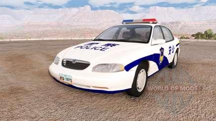 Ibishu Pessima Chinese Police для BeamNG Drive