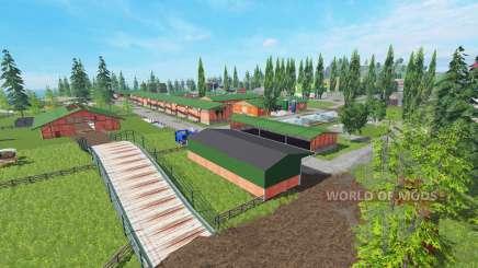 Vosges v4.0 для Farming Simulator 2015