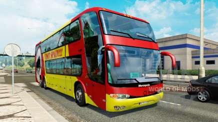 Bus traffic v1.3.1 для Euro Truck Simulator 2