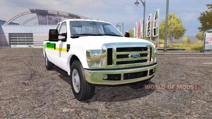 Ford F-350 John Deere для Farming Simulator 2013