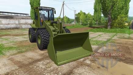 John Deere 524K army для Farming Simulator 2017