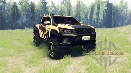 Toyota Hilux Tonka Concept 2017 для Spin Tires
