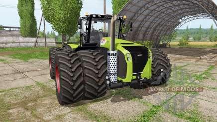 CLAAS Xerion 5000 v2.0 для Farming Simulator 2017