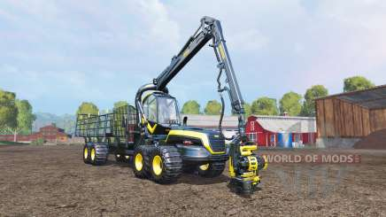 PONSSE Scorpion cutting and loading v1.1 для Farming Simulator 2015