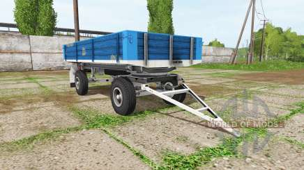 BSS tractor trailer для Farming Simulator 2017