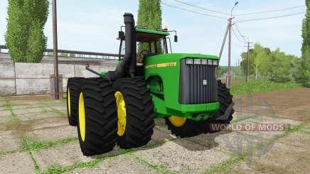 John Deere 9400 для Farming Simulator 2017