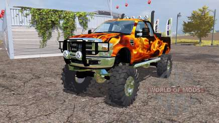 Ford F-350 monster для Farming Simulator 2013