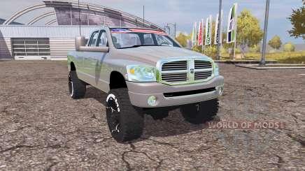 Dodge Ram 2500 2008 v2.0 для Farming Simulator 2013