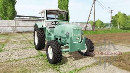 MAN 4p1 1960 v2.0 для Farming Simulator 2017